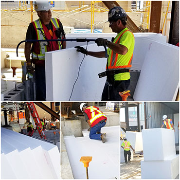 Fortefy Thermo & Thermo HD EPS Insulation - EPS Expanded Polystyrene Products by Forte EPS Solutions Toronto, ON